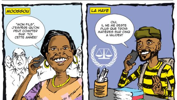 Rentrée des classes en Côte d'ivoire et...à la CPI